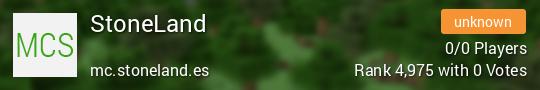 StoneLand Minecraft server