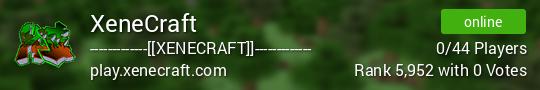 XeneCraft Minecraft server