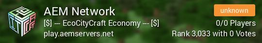 AEM Network Minecraft server