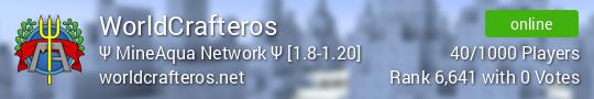 WorldCrafteros Minecraft server