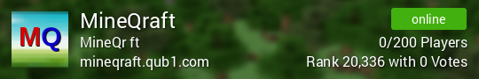 Mineqraft Minecraft server