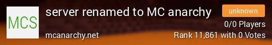 colinarchy Minecraft server